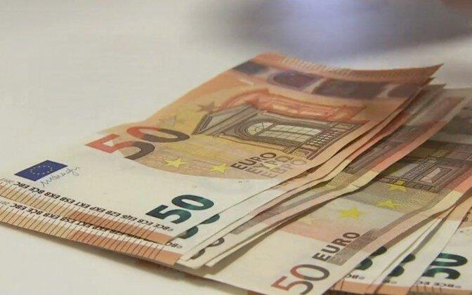 Eesti keskmine palk oli eelmisel aastal 1407 eurot