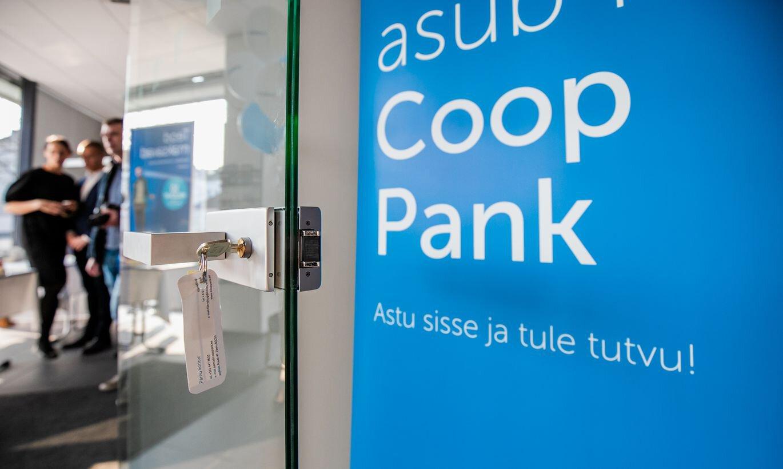 Coop Pank väljastab ligi 800 000 euro väärtuses uusi aktsiaid